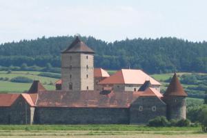 Oživené noční prohlídky na hradě Švihov