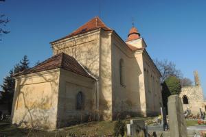 Kostel sv.Martina ve Vyšehořovicích je součástí rozsáhlého areálu