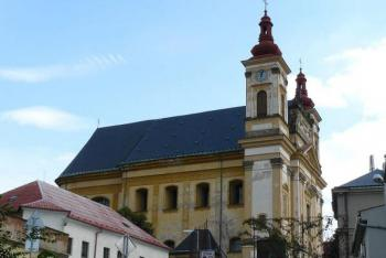Chrám Zvěstování Panny Marie ve Šternberku byl součástí augustiniánského kláštera