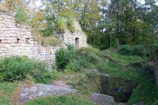 Hrad Zbirohy představuje vyvrcholení vývoje české hradní architektury 14.století