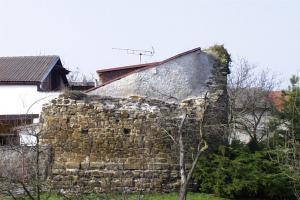Zbytky tvrze Ostrov u Záp jsou zajímavým příkladem výstavného sídla pražských měšťanů