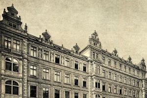 Hlávkův palác ve Vodičkově ulici v Praze