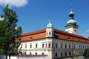 Historické kočárky na zámku Vsetín