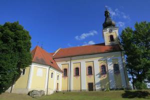 Historie poutního místa Svatý Kámen začíná v 1. polovině 16. století