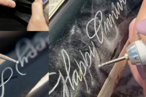 Jak tradičně zdobit sklo rytím se naučíte v poličském muzeu