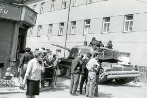 Ve Šternberku začíná  výstava k 50. výročí srpnových událostí roku 1968