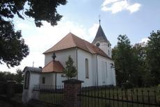 Kostel sv. Jana Nepomuckého v Senožatech patřil želivským premonstrátům