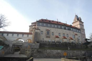 Zámek v Brandýse nad Labem sloužil císařům Habsburské dynastie