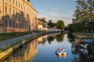 Vltava je doménou vodní rekreace a českých turistů