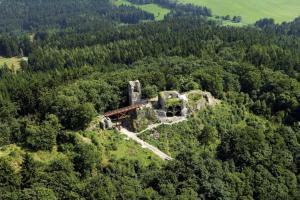 Hrad Zubštejn patřil k nejvýznamnějším sídlům rodu pánů z Pernštejna
