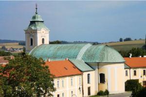 Kostel sv. Anny v Holešově sloužil řádu trinitářů