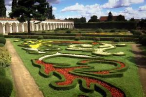 Květná zahrada patří mezi nejvýznamnější zahradní díla v celosvětovém měřítku