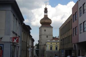 Jen věž zbyla z Choceňské brány