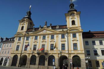V písecké radnici sídlí starosta v bývalé radniční kapli