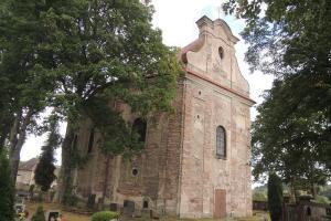Kostel sv. Jakuba v Ruprechticích patří do broumovské skupiny kostelů