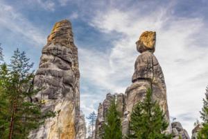 Turisté dojedou ke skalním městům v Adršpachu pohodlně vlakem