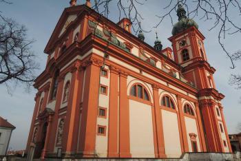 Palladium země české uchovává chrám Nanebevzetí Panny Marie ve Staré Boleslavi