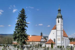 Kájov je jedno z nejstarších poutních míst českobudějovické diecéze