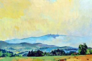 Kleť a Blanský les - obraz krajiny, krajina v obrazech