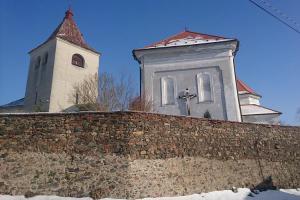 Zvonice v Mirovicích sloužila také k obranným účelům