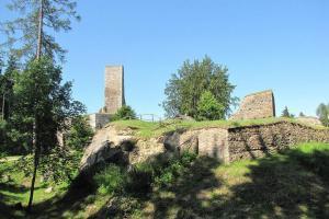 Nad Humpolcem se vypíná hrad Orlík