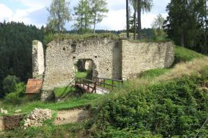 Hrad Pořešín nedobyl ani  Jan Žižka z Trocnova
