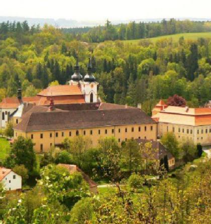 Želivský klášter patří mezi architektonické skvosty Vysočiny