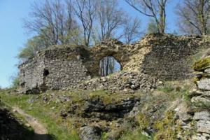 Hrad Preitenstein založil Jan Lucemburský