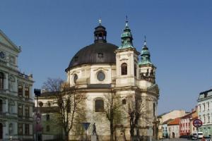 Kostel sv. Jana Křtitele v Kroměříži byl postaven na místě sídla johanitů