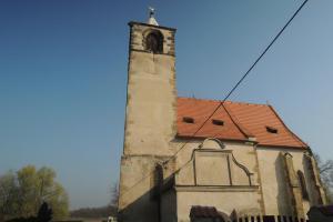 Kostel sv. Jakuba Většího v Libiši skrývá gotické fresky