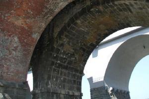 Hranické viadukty tvoří tři různé železniční mosty