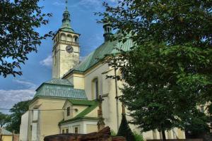 Kostel sv. Jakuba Většího je dominantou Lipníka nad Bečvou