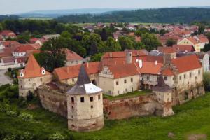 Červená Řečice patřila pražským biskupům