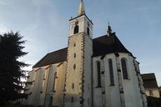 Kostel Narození Panny Marie v Miličíně zdobí obraz Petra Brandla