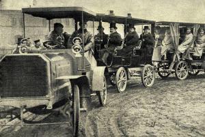 Vynález automobilového vlaku