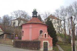 Kaple Narození Panny Marie v Horkách připomíná rotundu