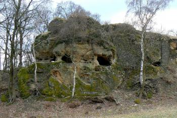 Na hradě Hřídelík bylo vězení pro provinilé kněze