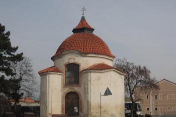 Kaple blahoslaveného Podivena byla postavena na místě jeho smrti