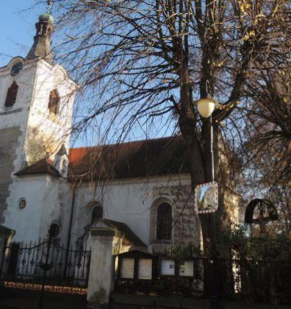 Kostel sv.Bartoloměje v Kosově Hoře navštívil i František Josef I.