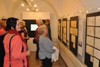 Výstava kreseb Bohuslava Martinů v Poličce zahájena