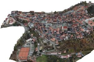 Tábor představil 3D model historického jádra města
