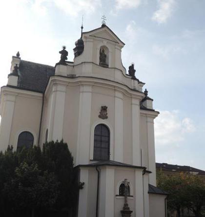 Kostel sv. Františka Serafínského v Chocni zdobí obraz Petra Brandla