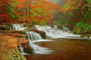 Výlet po hřebenech Krkonoš zakončí odměna u Mumlavských vodopádů