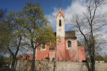 Kostel sv.Havla ozdobil svým dílem sochař a řezbář Lazar Widmann