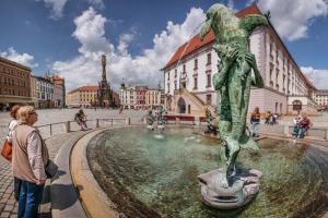 Olomouc je stále oblíbenějším cílem turistů