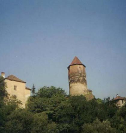 Hrad Pirkenštejn patřil strýci Jiřího z Poděbrad