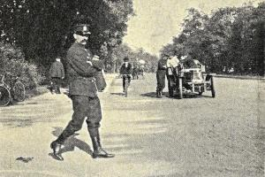 Pokutování za rychlou jízdu