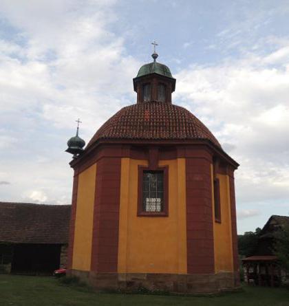 Kaple Jména Panny Marie je mistrovským dílem Jana Blažeje Santiniho