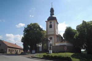 Kostel Narození Panny Marie v Pičíně skrývá gotické fresky