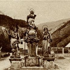 Svatý Jan pod skalou - barokní sousoší